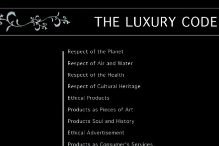 1.618  Are you part of this New Luxury World ?