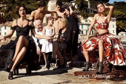 2012 Spring Summer campaigns: Gucci, Emporio Armani, Bottega Venetta, Fendi, Alberta Ferretti, Dolce & Gabbana, Valentino, Moschino, Prada, DSquared2, Salvatore Ferragamo