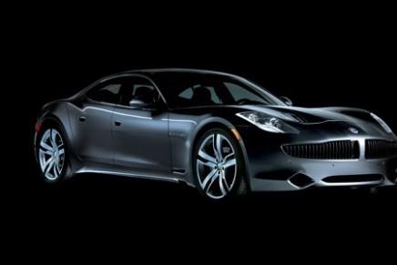 Earth-friendly luxury from Fisker Karma hybrid car
