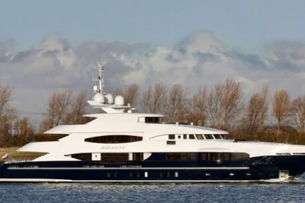 Heesen Yachts deliver Serenity superyacht, the largest Heesen displacement yacht to date