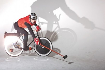 Louis Vuitton supports hardcourt bike polo sport