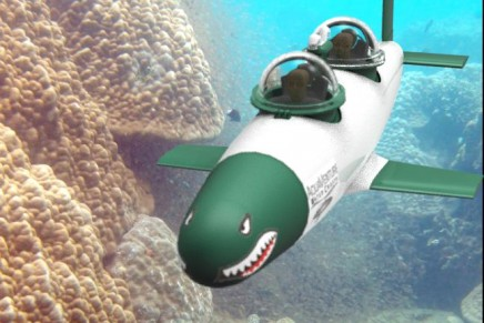 The Seabird – fastest personal submersible in the world