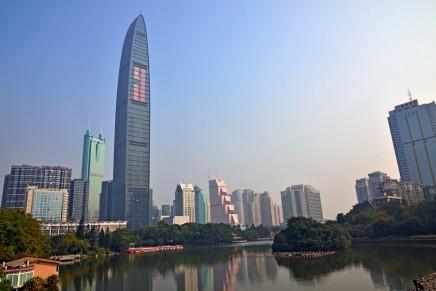 Rarified atmosphere at the world's Tallest St. Regis Hotel in Shenzhen
