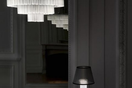 The Orgue lighting collection for Lalique