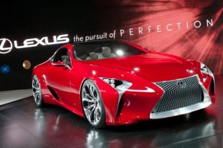 Lexus LF-LC – even more irresistible in real life