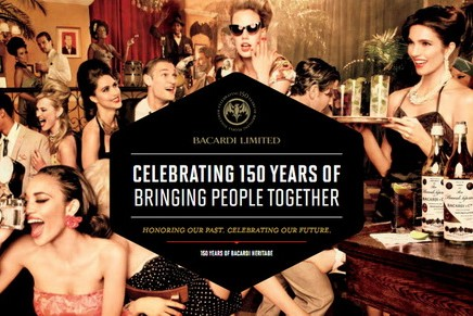 Most awarded rum brand is celebrating 150 years of bringing people together