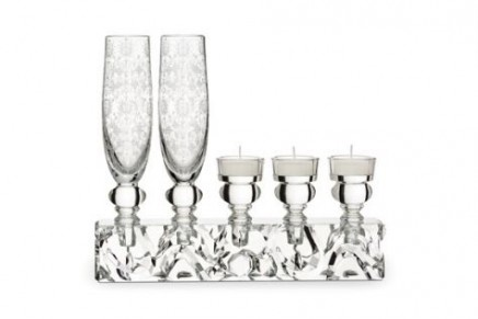 Baccarat United Crystal Woods – forest designs etched into the crystal by Marcel Wanders