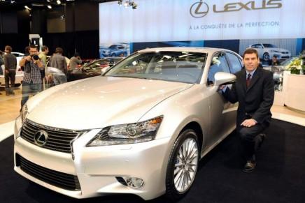 Lexus Debuts 2013 Lexus GS at the Montreal International Auto Show