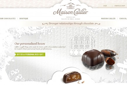 Nestle's Maison Cailler to deliver tailor-made chocolates designed to the the customer's individual taste