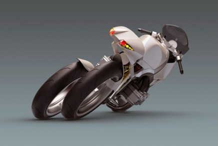 Futuristic motorbike FB200S