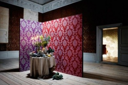 Personalized walls with Swarovski Elements – Karen Beauchamp wallpapers