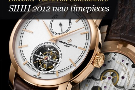 Vacheron Constantin has sold the production for 2012: It will be a good year, but it will be less than last year