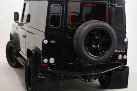 Luxury limited edition Land Rover Defender by Prindiville Design