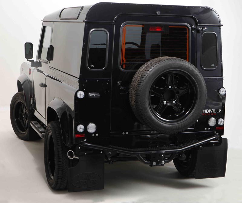 Luxury Limited Edition Land Rover Defender By Prindiville