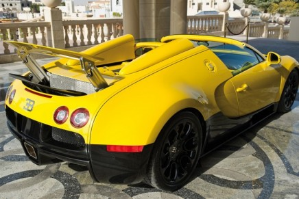 The world's fastest convertible at Qatar Motor Show 2012