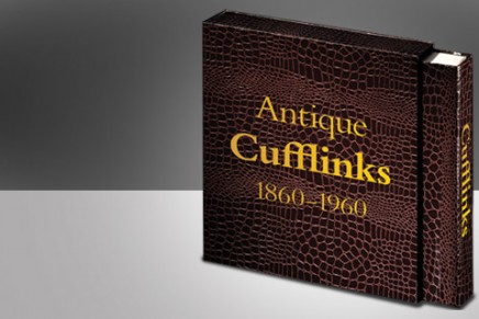 Antique Cufflinks 1860 – 1960: the first historical reference book on cufflinks