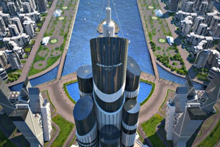 Oil-rich Azerbaijan to build world's tallest building