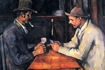 Qatar Royals bought Cezanne's painting for  £158,4m, a Record!