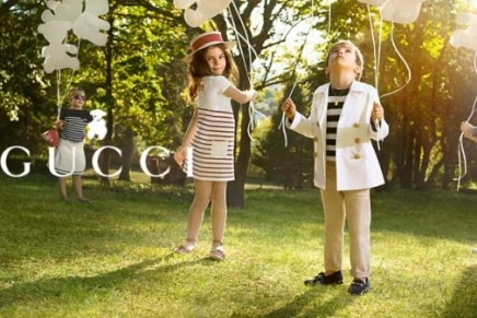 Little Gucci Travellers – Kids Spring Summer 2012