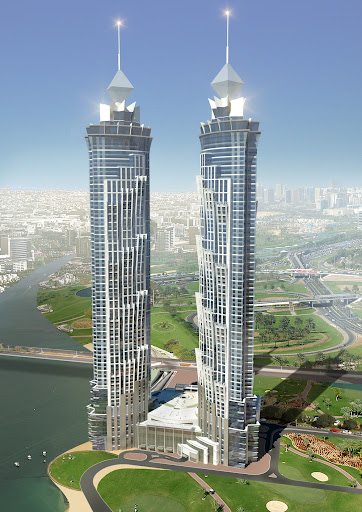 355 Meter Jw Marriott Marquis Dubai Set To Be World S