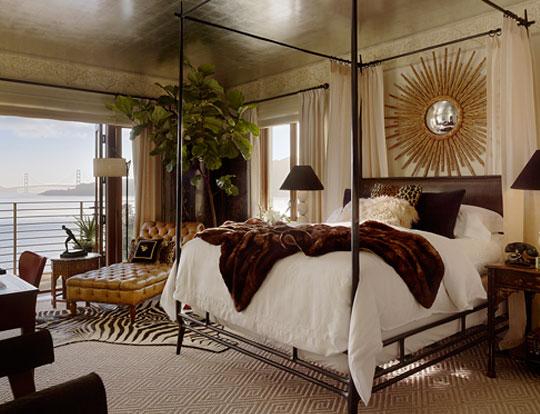 Sanctuary for rejuvenation bedroom design trend for 2012 for Designer inspired bedding