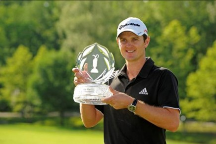 Maurice Lacroix Ambassador Justin Rose wins the Memorial Golf Tournament