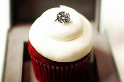 Love Tastes Like This: Made-to-Order Sparkling Red Velvet Cupcake