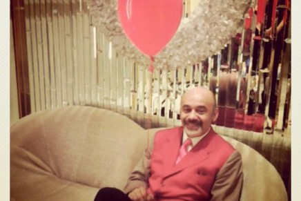 An exclusive pilule for Christian Louboutin's 20th Anniversary