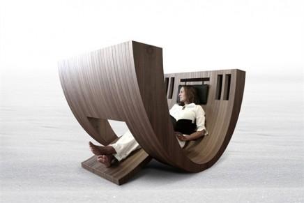 Meditative Reading Space – Kosha Chair