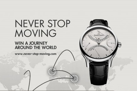 Never Stop Moving: Win a once-in-a-lifetime journey around the world with Maurice Lacroix and Kuoni
