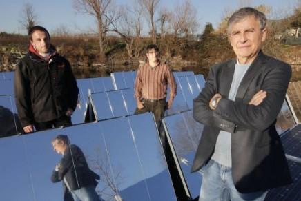 Floating, rotating solar panels to revolutionise solar power