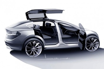 Tesla shows off Model X: an electric SUV with faster acceleration that a Porsche 911