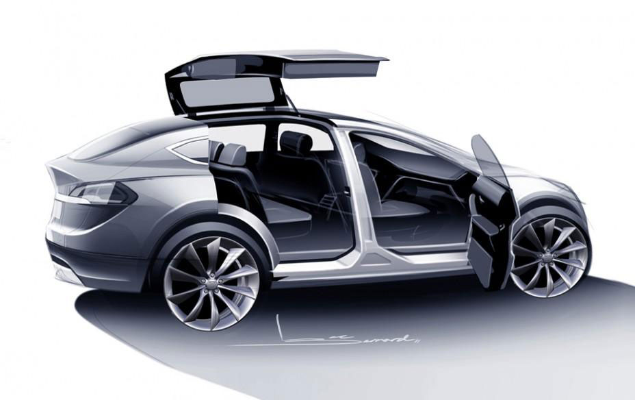 Tesla Model X Electric Image Gallery Hcpr