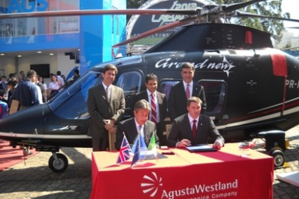 AgustaWestland and Tata to satisfy India's rich sudden helicopter hunger