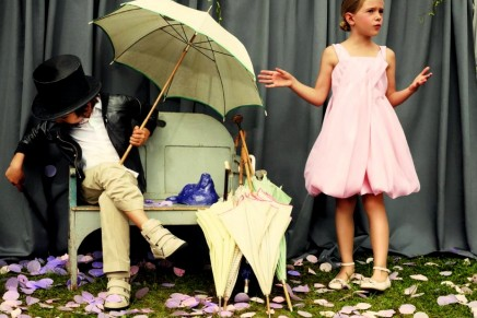 Time for fun in the garden: Baby Dior campaign