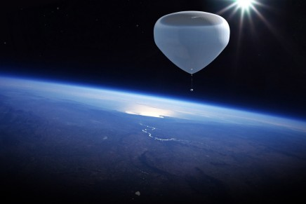 Near-space flight experience in a space balloon