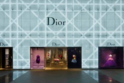 Chez Dior: Dior launches its biggest boutique in Taiwan, the fifth largest Asian market.