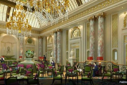 Fairmont Grand Hotel Kyiv, the luxury brand's first hotel in Eastern Europe, opens its doors