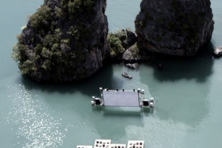 Archipelago Cinema – a floating movie theater in Thailand