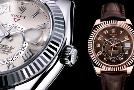 Rolex novelties at Baselworld 2012: Oyster Perpetual Sky-Dweller and Oyster Perpetual Datejust