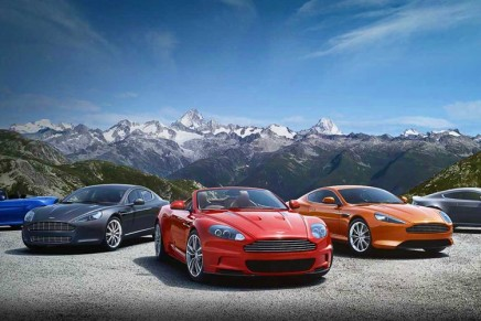 Aston Martin to conquer Italy with four new dealerships in 2012