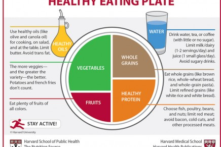 Go with plants. Vegetarian Harvard's Healthy Eating Plate