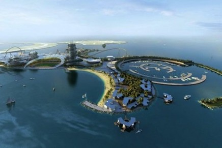 What Real Madrid $1billion artificial resort island will look like