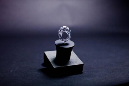 World's first ring carved completely from a diamond