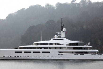 Britain's richest woman has taken delivery of Vava II – one of the largest superyachts ever built in the UK