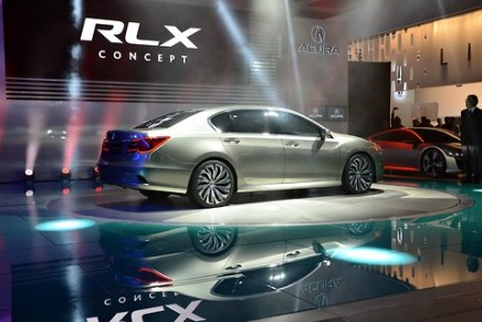 Acura RLX flagship sedan slated for launch at the beginning of 2013