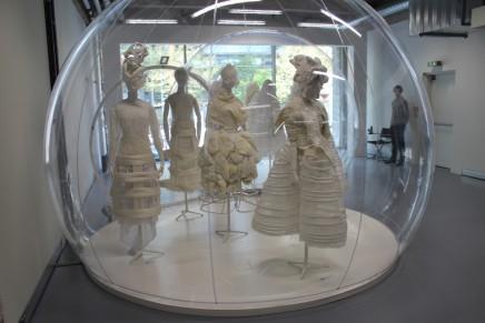 Cristóbal Balenciaga and Comme des Garçons in exhibition