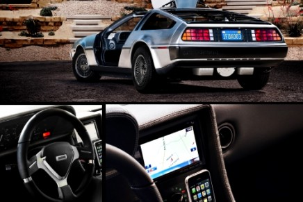 Iconic DeLorean EV time machine from the '80s is back