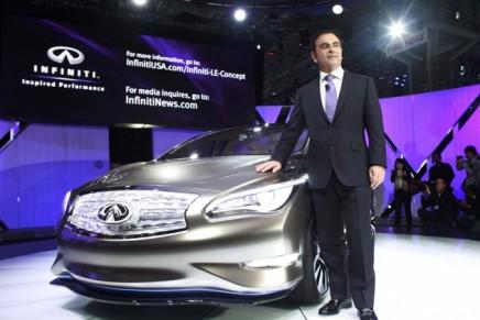 Zero emission luxury: Infiniti LE Concept, brand's first electric luxury sedan
