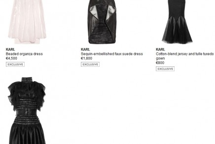 IroniK, artistiK and iconiK. The capsule collection of dresses from Karl